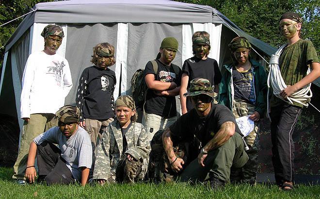 Vyriškumo stovyklos vaikams